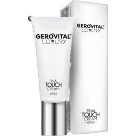 Gerovital Luxury Final Touch SPF25 DD Cream 30ml - Gerovital