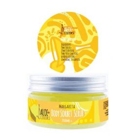 Aloe+ Colors Face & Body Sorbet Scrub Margarita 200ml-pharmacystories-pharmacy-aloe plus colors