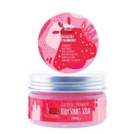 Aloe+ Colors Daiquiri Strawberry Body Sorbet Scrub 200ml - Aloe + Colors