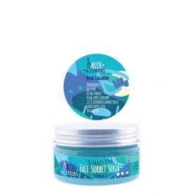 Aloe+ Colors Blue Lagoon Face Sorbet Scrub 100ml - Aloe + Colors