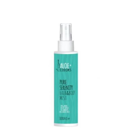 Aloe+ Colors Pure Serenity Hair & Body Mist Μανώλια 100ml - Aloe + Colors
