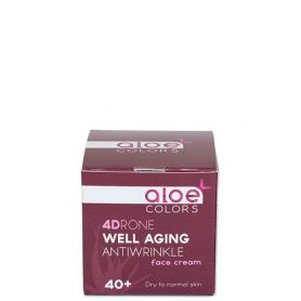 Aloe+Colors 4Drone Well aging antiwrinkle κρέμα προσώπου 50ml - Aloe + Colors