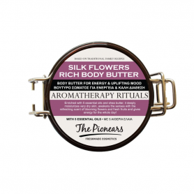 The Pionears Aromatherapy Rituals Silk Flowers Rich Body Butter 200ml - The Pionears