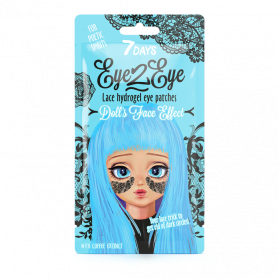 7 Days Eye-2-Eye Lace Hydrogel Eye Patch Coffee 6g - 7days