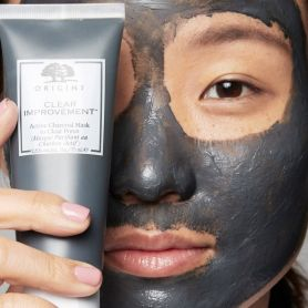 Origins Clear Improvement Active Charcoal Mask to Clear Pores Μάσκα Ενεργού Άνθρακα , 75ml - Origins Skin Care