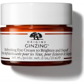 Origins Ginzing Refreshing Eye Cream To Brighten & Depuff - Δροσιστική Κρέμα Ματιών Λάμψης & Αποσυμφόρησης, 15ml-pharmacystories