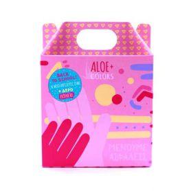 Aloe+ Colors Antiseptic gel back to school 4x85ml - Aloe + Colors