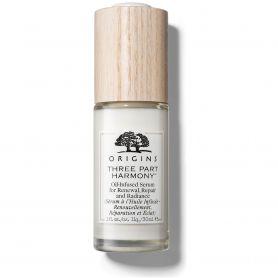 Origins Three Part Harmony Oil-Infused Serum for Renewal, Repair & Radiance, Αντιγηραντικός Ορός Προσώπου 30ml - Origins Skin...