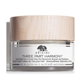 Origins Three Part Harmony Day/Night Eye Cream Duo For Renewal, Repair & Radiance Αντιγηραντική Κρέμα Gel Ματιών 15ml
