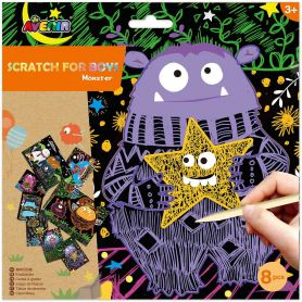Avenir Arts & Crafts Χειροτεχνίες Scratch Monster-pharmacystories-pharmacy