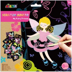 Avenir Arts & Crafts Χειροτεχνίες Scratch Junior - Fairy-pharmacy-pharmacystories
