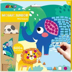 Avenir Arts & Crafts Mosaic Junior Wild Animals-pharmacystories-pharmacy