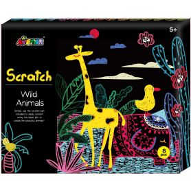 Avenir Arts & Craft Scratch Wild Animals-pharmacystories-pharmacy