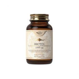 Sky Premium Life Biotin Συμπλήρωμα Διατροφής με Βιοτίνη για την Υγεία Μαλλιών και του Δέρματος 60caps - Sky Premium Life