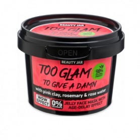 "Beauty Jar ""TOO GLAM TO GIVE A DAMN"" Gel μάσκα αντιγήρανσης, 120gr - Beauty Jar"