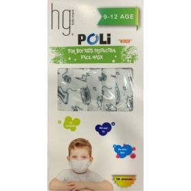 HG Kids Face Mask 9-12 Age Poli Wired Μουσικά Όργανα 10τμχ - PharmacyStories