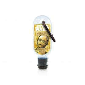Mad Beauty Clip & Clean Star Wars Hand Sanitizer C3PO 30ml - Mad Beauty