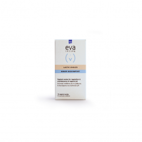 Intermed Eva Lactic Ovules Κολπικά Υπόθετα 10τμχ - Intermed