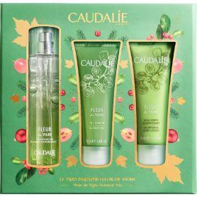 Caudalie Promo Fleur de Vigne Fresh Fragnance 50ml & Shower Gel 50ml & Nourishing Body Lotion 50ml-pharmacystories