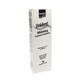 Intermed Unident Whitening Professional Toothpaste Λευκαντική Οδοντόκρεμα,Γεύση Μέντας 100ml - Intermed
