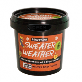 "Beauty Jar ""SWEATER WEATHER"" Scrub με σκόνη Πιπερόριζας (LE), 200gr-pharmacystories-pharmacy"