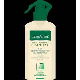 Gerovital Ενυδατικός Ορός Μαλλιών με Κερατίνη - Thermoprotective Serum-pharmacystories