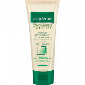 Gerovital Σαμπουάν Revitalizer 2 σε 1 shampoo & balm με Κερατίνη 150ml-pharmacystories-pharmacy
