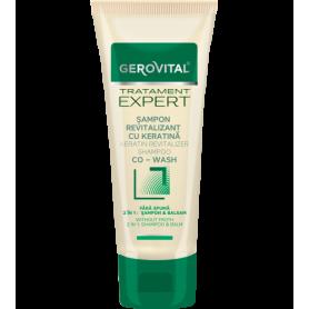 Gerovital Σαμπουάν Revitalizer 2 σε 1 shampoo & balm με Κερατίνη 150ml - Gerovital