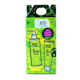 Aloe+ Colors Shampoo 250ml and Hair mask 250ml set all hair types - Aloe + Colors