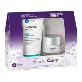 Medisei Panthenol Extra Night Cream 50ml & Face Cleansing Gel 150ml-pharmacystories-pharmacy