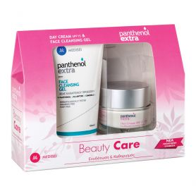 Medisei Panthenol Extra Promo Beauty Care Κρέμα Ημέρας SPF15 50ml & Face Cleansing Gel 150ml-pharmacystories-pharmacy