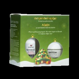 Anaplasis Gift Box X-Mas Εντατική Αντιρυτιδική Kρέμα για τα μάτια & χείλη – 15 ml & Κρέμα Ημέρας με Ελαστίνη 50 ml - AnaPlasis