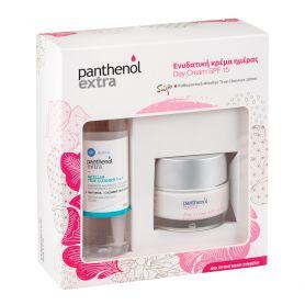 Medisei Panthenol Extra Πακέτο Προσφοράς Day Cream Spf15, 50ml & Δώρο Micellar True Cleanser 100ml - Panthenol Extra