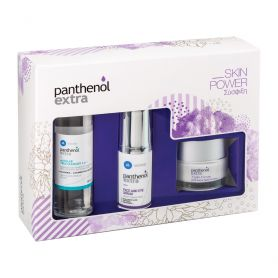 Panthenol Extra Skin Power Face-Eye Serum 30ml & Night Cream 50ml & Micellar True Cleanser 100ml-PHARMACYSTORIES