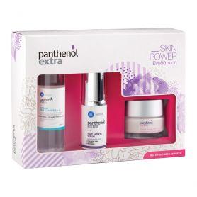 Medisei Panthenol Extra Set Face & Eye Serum 30ml & Day Cream Spf15 50ml & Micellar True Cleanser 100ml - Panthenol Extra