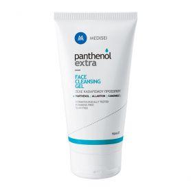 Medisei Panthenol Extra Face Cleansing Gel, Αφρώδες Τζελ Καθαρισμού-Ντεμακιγιάζ Προσώπου 150ml - Panthenol Extra