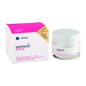 Medisei Panthenol Extra Day Cream SPF15 Ενυδατική Κρέμα Ημέρας 50ml-pharmacystories-pharmacy