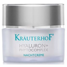 Krauterhof Hyaluron+ Phytocomplex Night  Αναπλαστική Κρέμα  Νύχτας με Υαλουρονικό Οξύ & Φυτοσύμπλεγμα 50ml