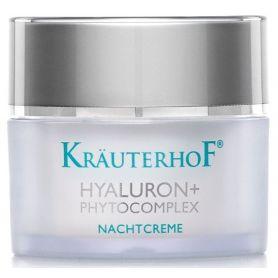 Krauterhof Hyaluron+ Phytocomplex Night Αναπλαστική Κρέμα Νύχτας με Υαλουρονικό Οξύ & Φυτοσύμπλεγμα 50ml - Krauterhof
