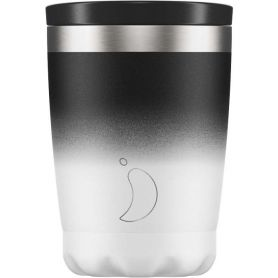 Chilly's Coffee Cup Gradient Monochrome 340ml - Chilly's