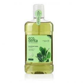 Ecodenta Green Στοματικό διάλυμα με Μέντα, Φασκόμηλο & Αλόη, 500ml - EcoDenta