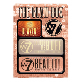 W7 The Glam Box-Baby Blazing , Colour Me Buff ,Colour Me Nude -