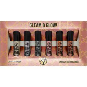 W7 Cosmetics Gleam & Glow! Liquid Eyeshadow Set - W7 MakeUp