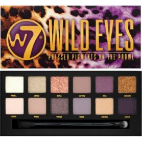 W7 Wild Eyes Eyeshadow Palette 12gr - W7 MakeUp