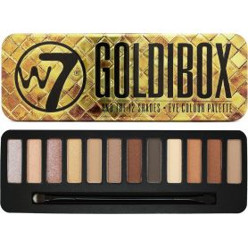 W7 Goldibox Eyeshadow Tin Eye Colour Palette 15,6gr - W7 MakeUp