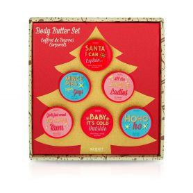 Mad Beauty Jingle Ladies Body Butter Tree 6x 50g - Mad Beauty