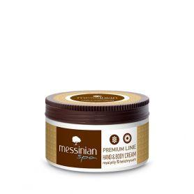 Messinian Spa Premium Line Κρέμα Σώματος & Χεριών Βασιλικός Πολτός 250ml - Messinian Spa