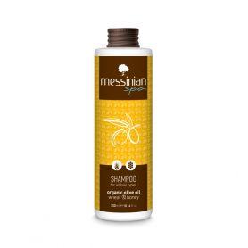 Messinian Spa Σαμπουάν Για Όλους Τους Τύπους Μαλλιών Σιτάρι - Μέλι 300ml - Messinian Spa