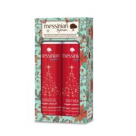Messinian Spa Christmas Limited Edition αφρόλουτρο 300ml & γαλάκτωμα σώματος 300ml-pharmacystories