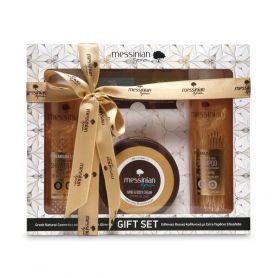 Messinian Spa Gift Set Premium Line Royal Jelly & Helichrysum Αφρόλουτρο 300ml & Σαμπουάν 300ml & Κρέμα Χεριών-Σώματος 250ml